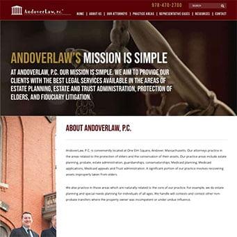 Law Firm Web Design