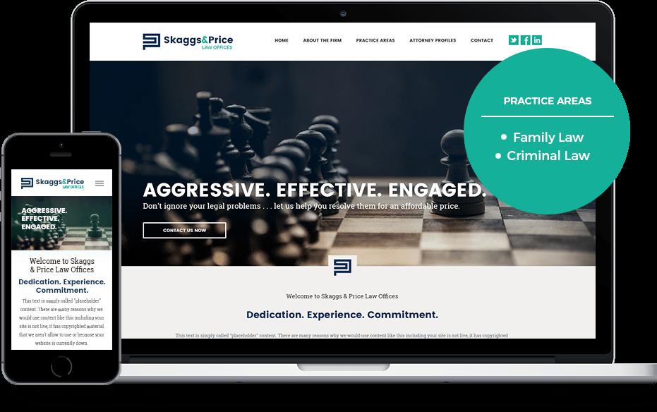 Law Firm Website Design Concept